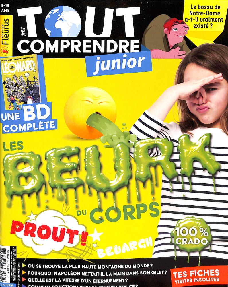 Tout comprendre junior N° 67 June 2018