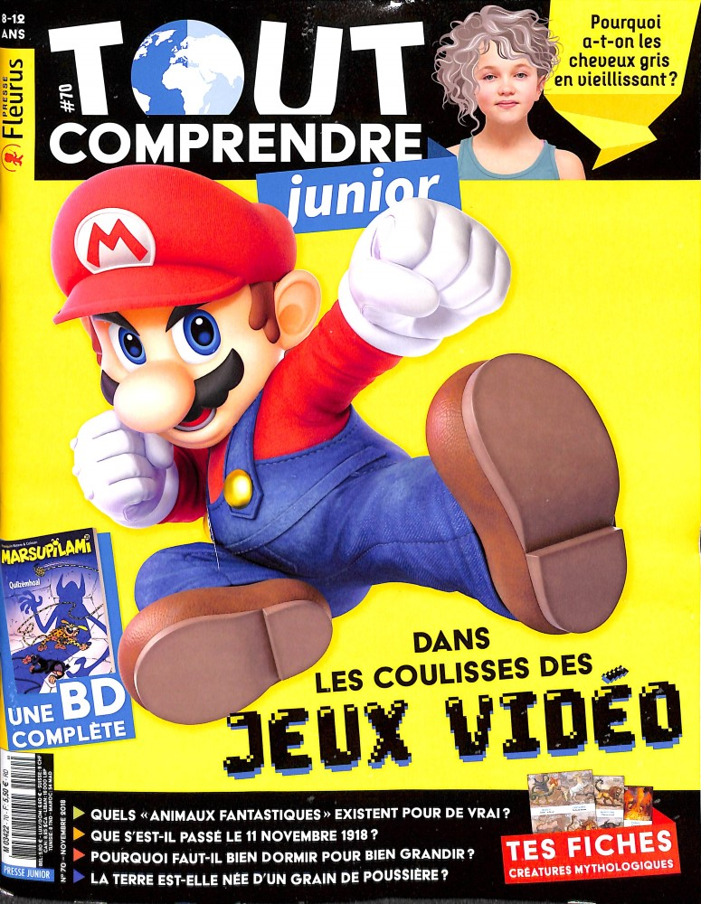 Tout comprendre junior N° 70 October 2018
