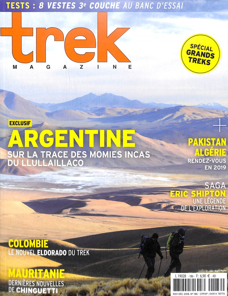 Trek Magazine N° 186 November 2018