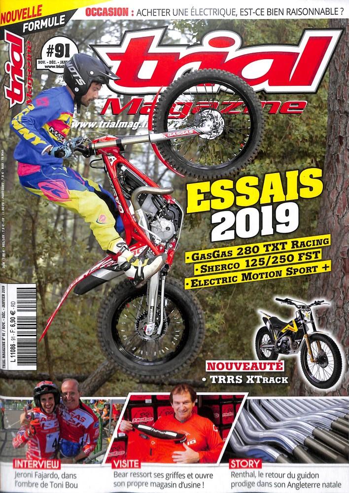 Trial magazine N° 91 November 2018