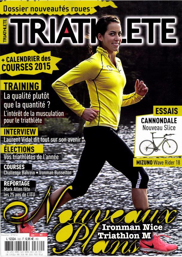 Triathlete N° 390 Février 2020