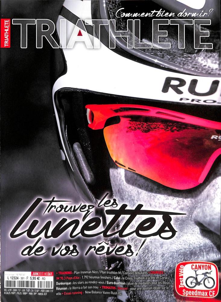 Triathlete N° 361 Juin 2017