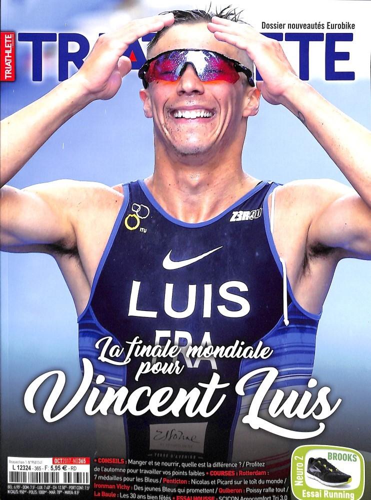 Triathlete N° 365 Octobre 2017