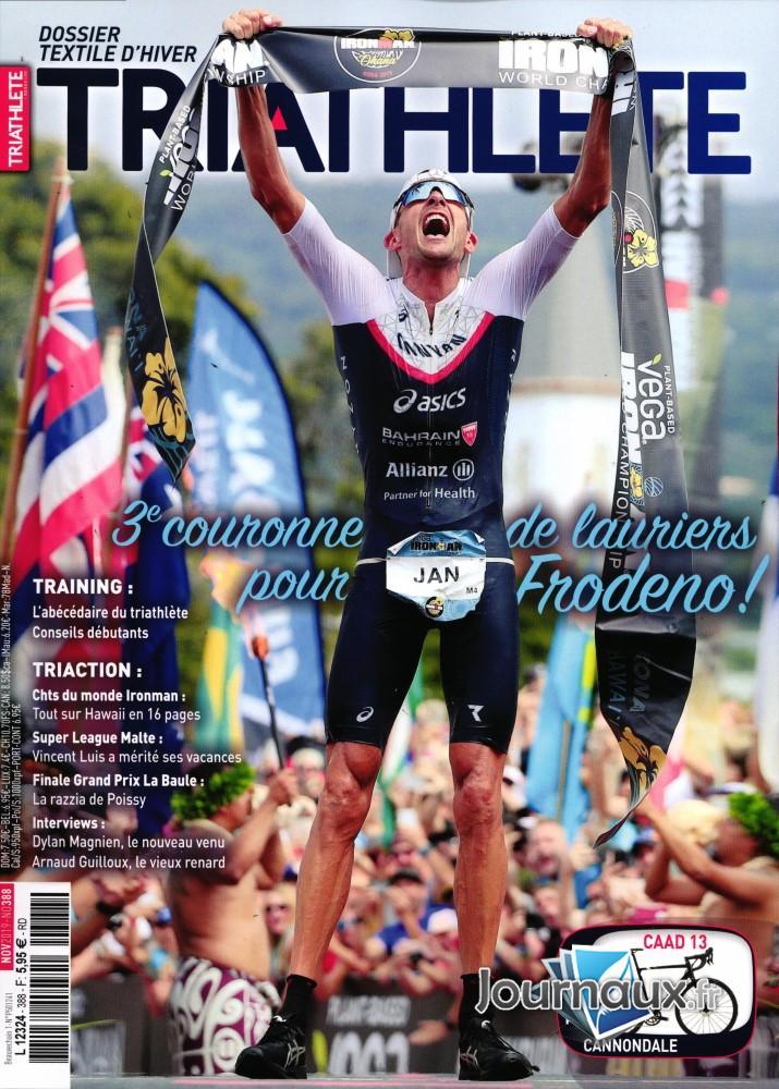 Triathlete N° 388 Novembre 2019