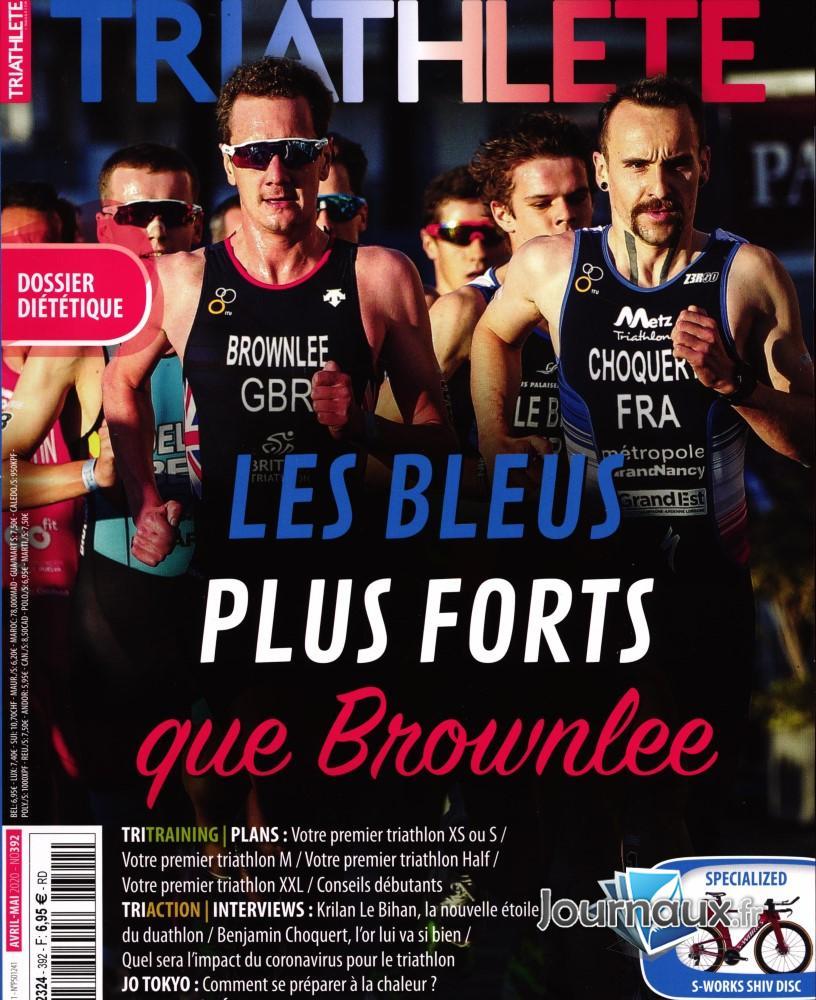 Triathlete N° 392 Avril 2020