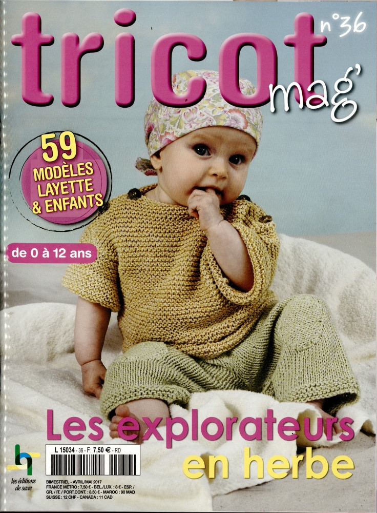 Tricot mag N° 36 Mars 2017