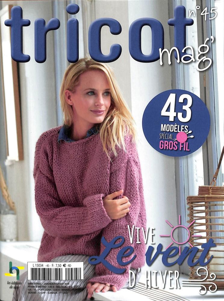 Tricot mag N° 45 Décembre 2018