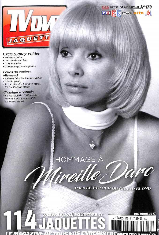 TV DVD Jaquettes N° 179 Septembre 2017