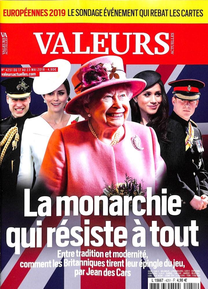Valeurs Actuelles N° 4251 May 2018