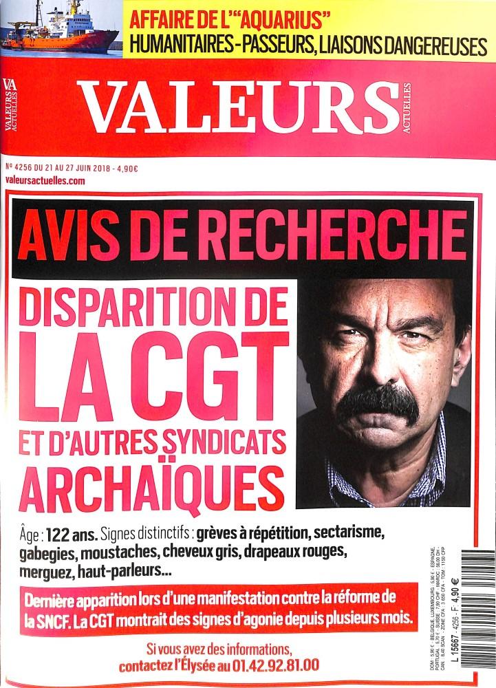 Valeurs Actuelles N° 4256 June 2018