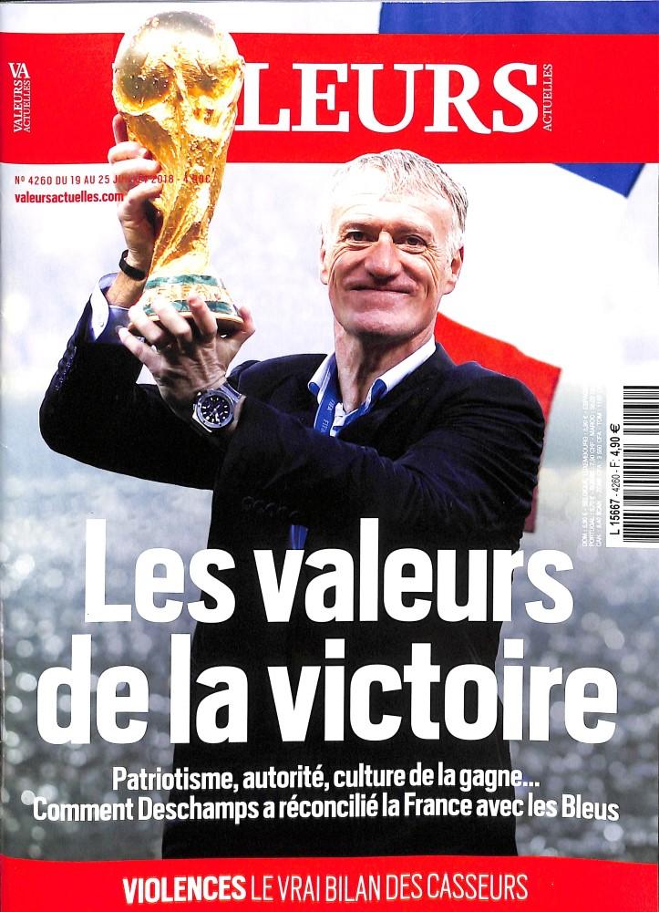 Valeurs Actuelles N° 4260 July 2018