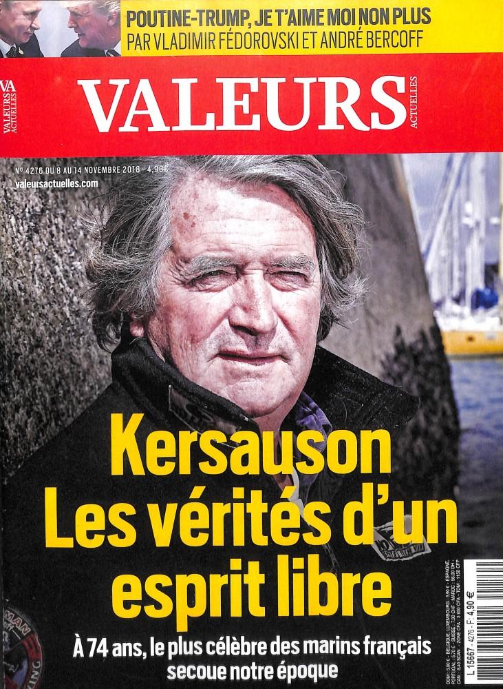 Valeurs Actuelles N° 4276 November 2018