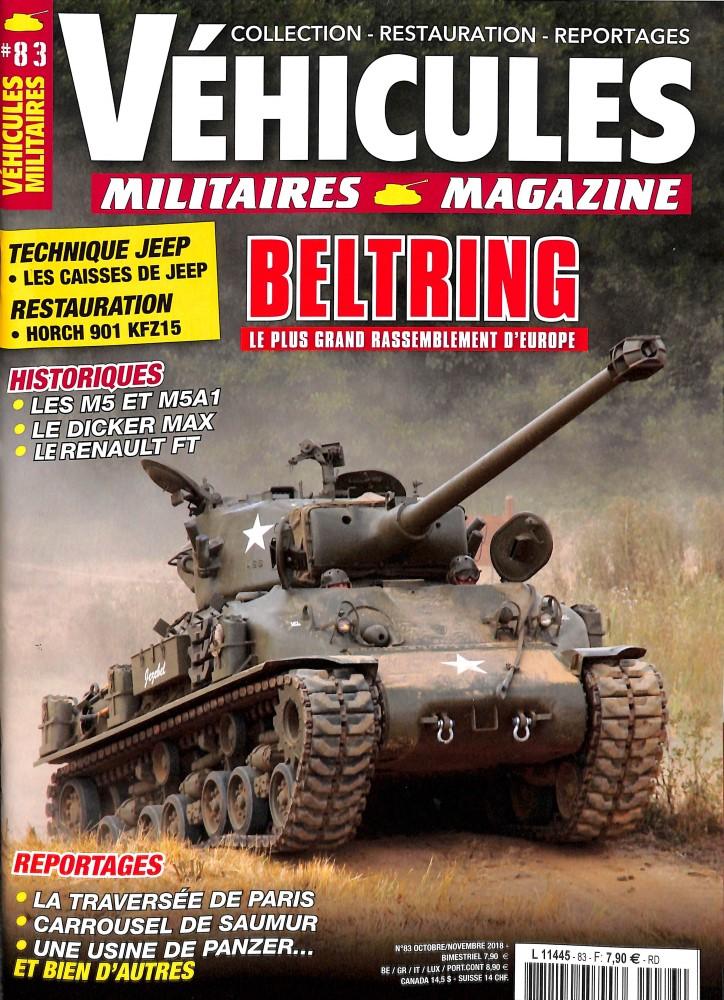 Véhicules militaires N° 82 August 2018