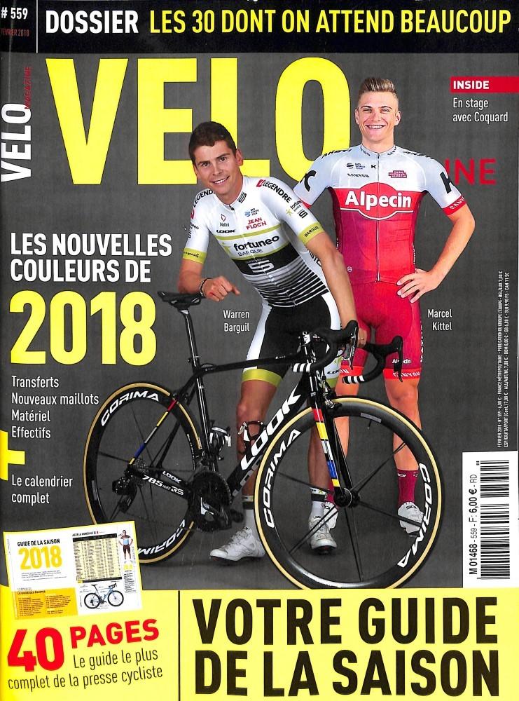 Vélo Magazine N° 558 Décembre 2017