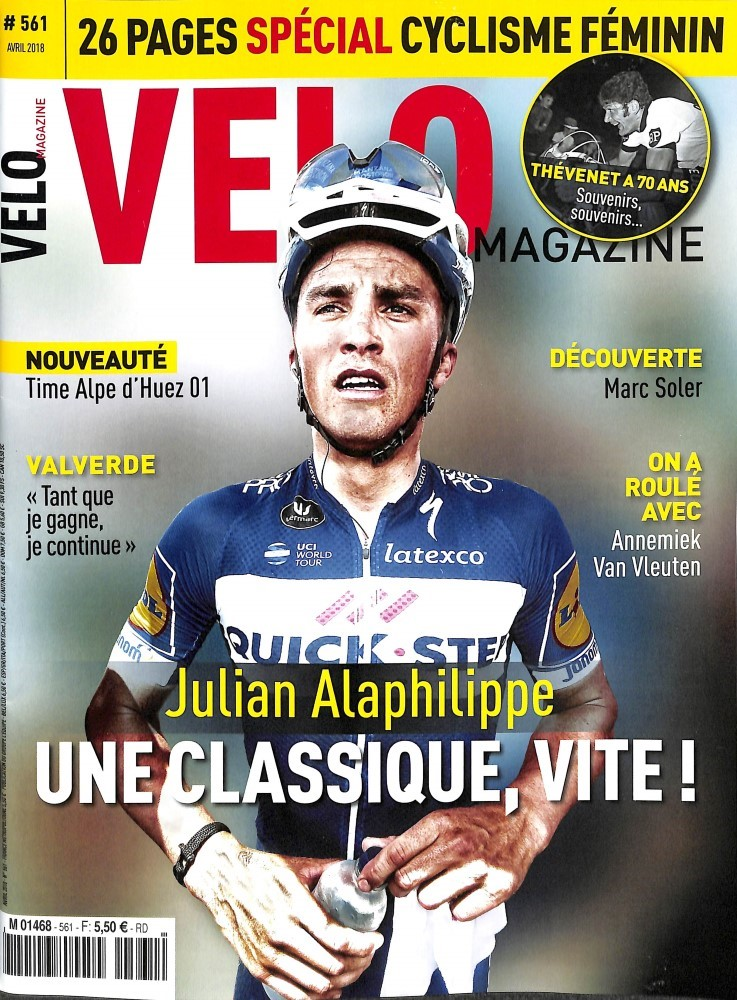 Vélo Magazine N° 561 March 2018