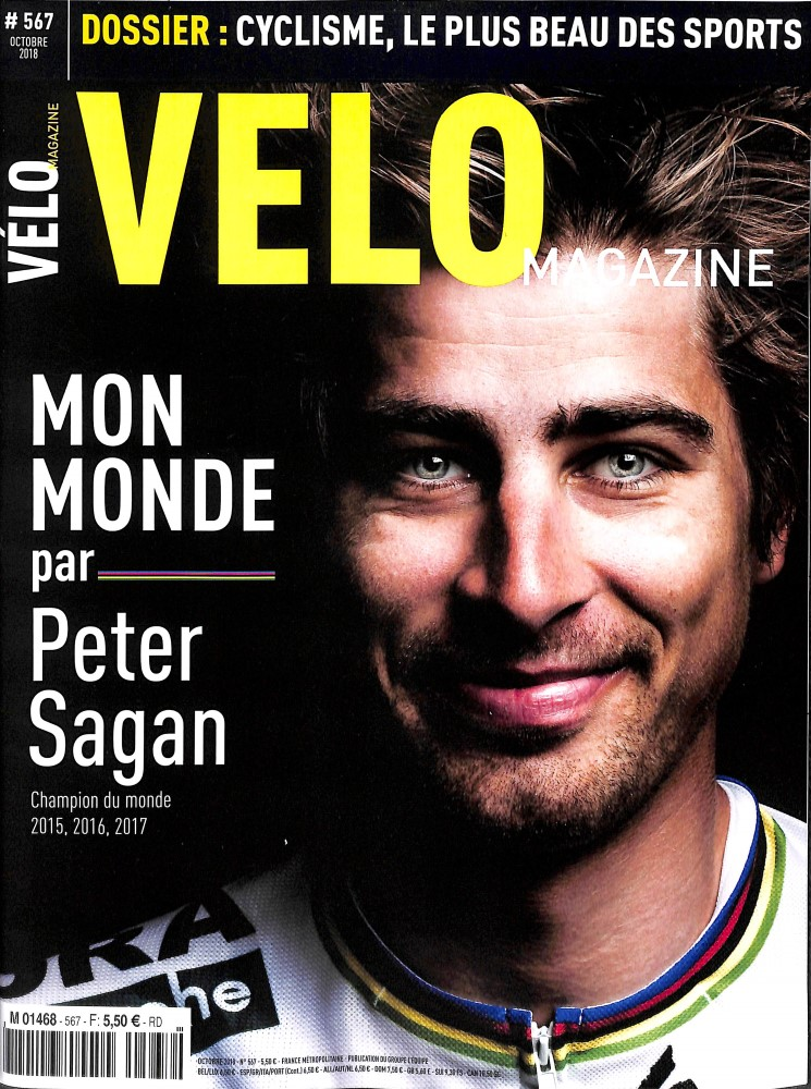 Vélo Magazine N° 567 September 2018