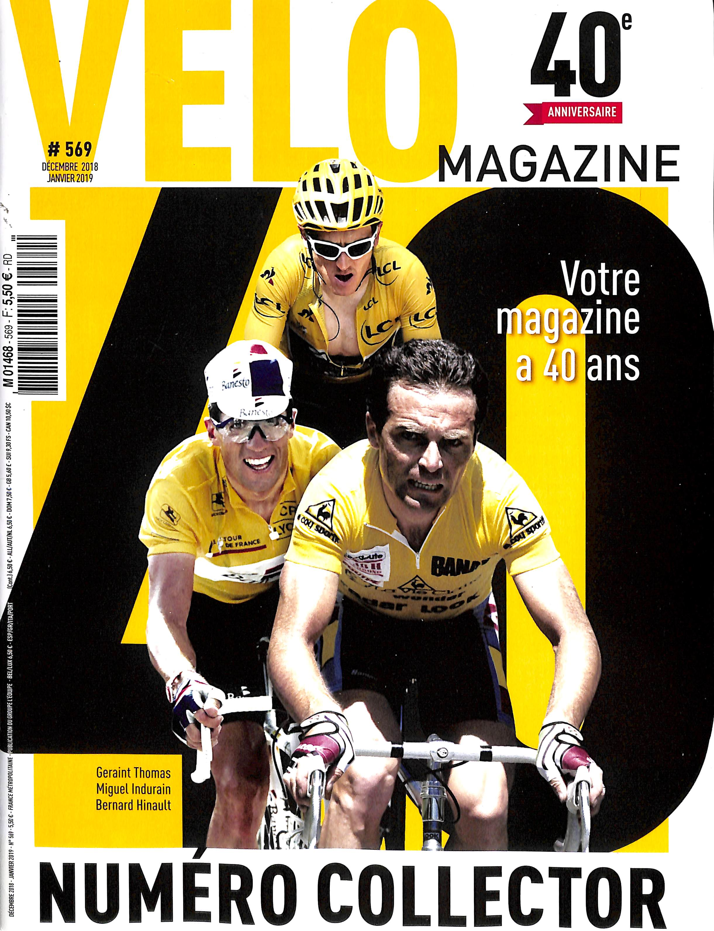 Vélo Magazine N° 569 November 2018