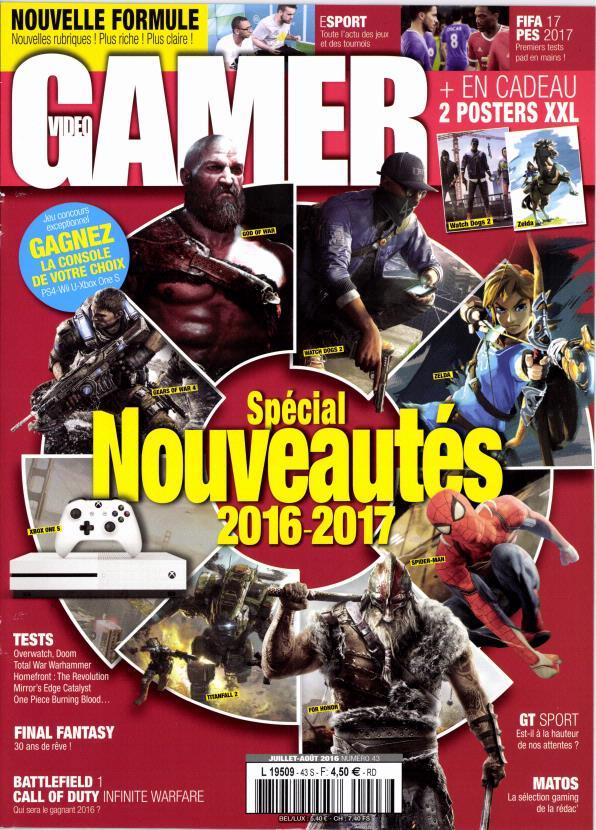 Vidéo gamer N° 78 Juillet 2019