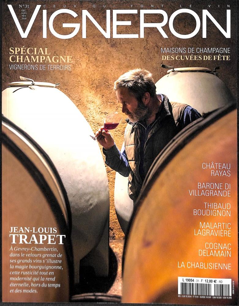 Vigneron magazine N° 31 Décembre 2017