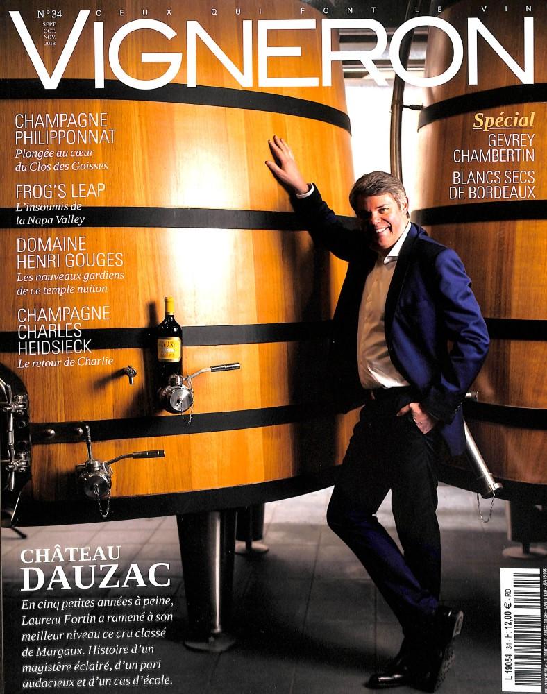 Vigneron magazine N° 34 September 2018