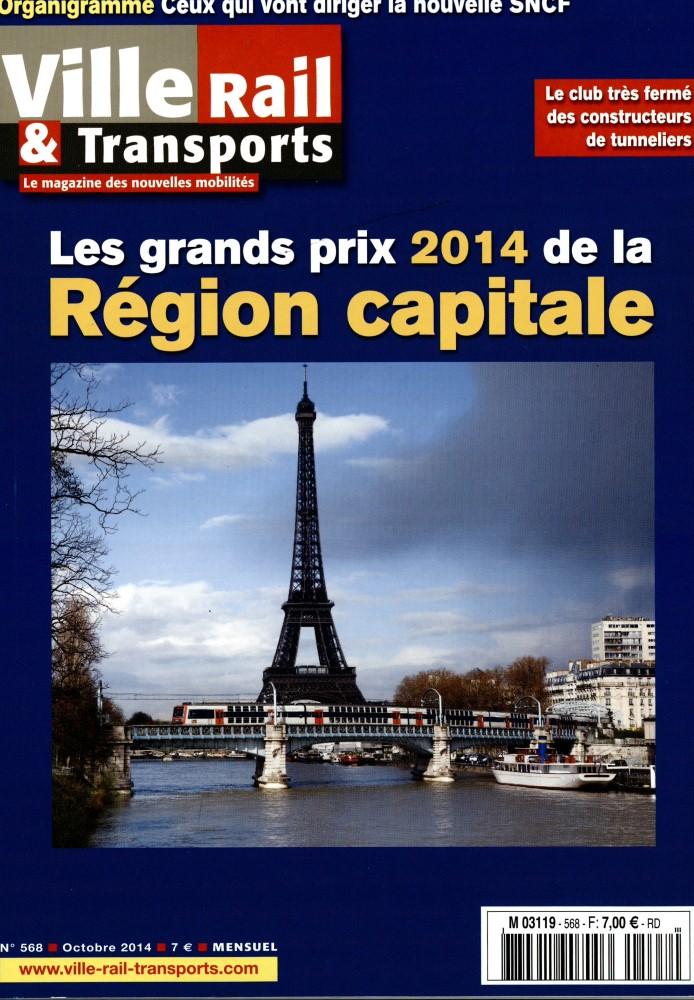 Ville, Rail et Transports N° 601 Juin 2017