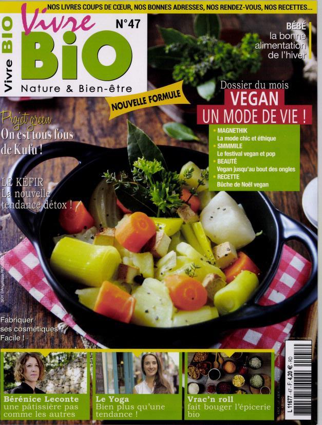 vivre bio n 47 abonnement vivre bio abonnement magazine par. Black Bedroom Furniture Sets. Home Design Ideas