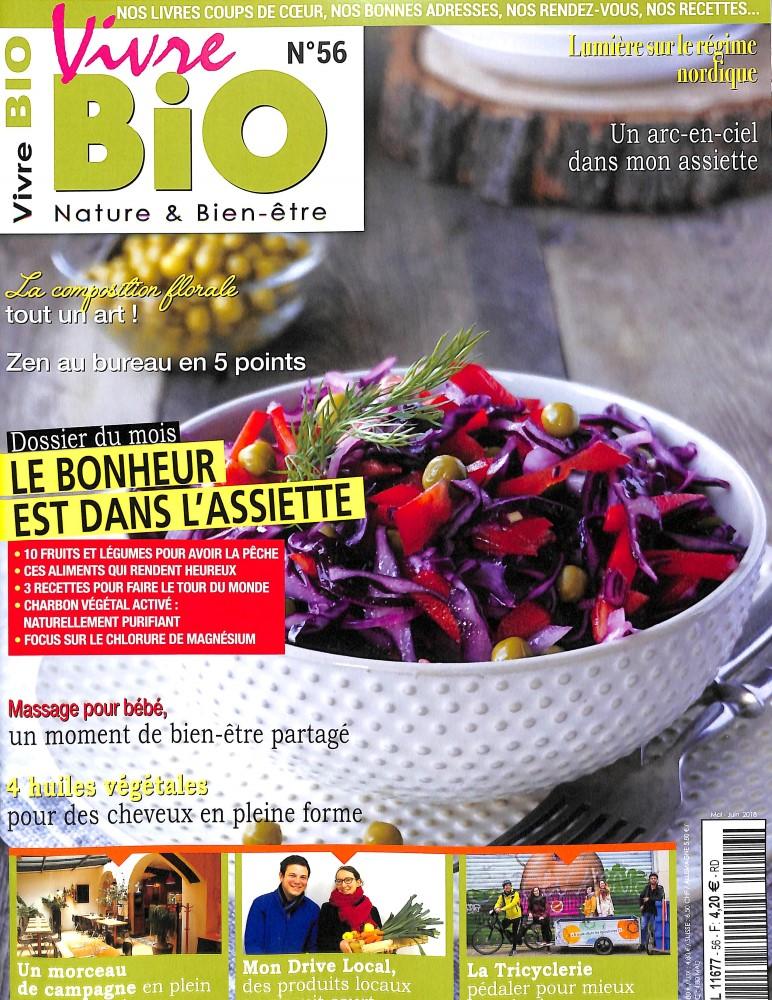 abonnement vivre bio abonnement magazine par. Black Bedroom Furniture Sets. Home Design Ideas