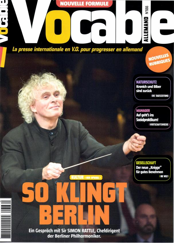 Vocable Allemand N° 745 Mars 2017