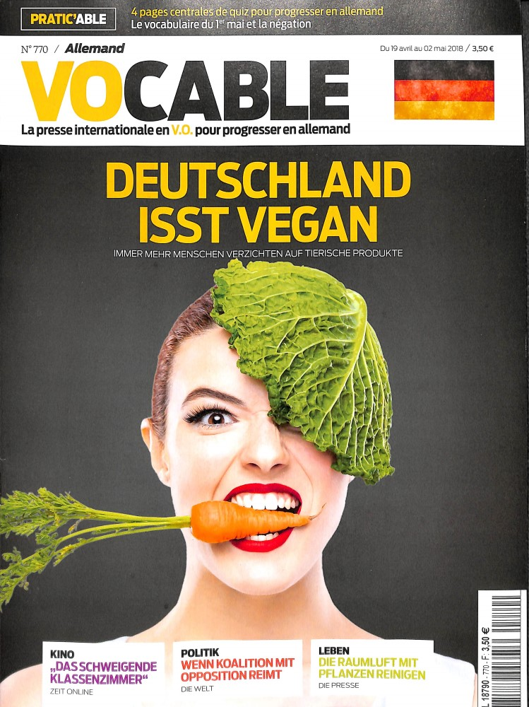 Vocable Allemand N° 770 April 2018