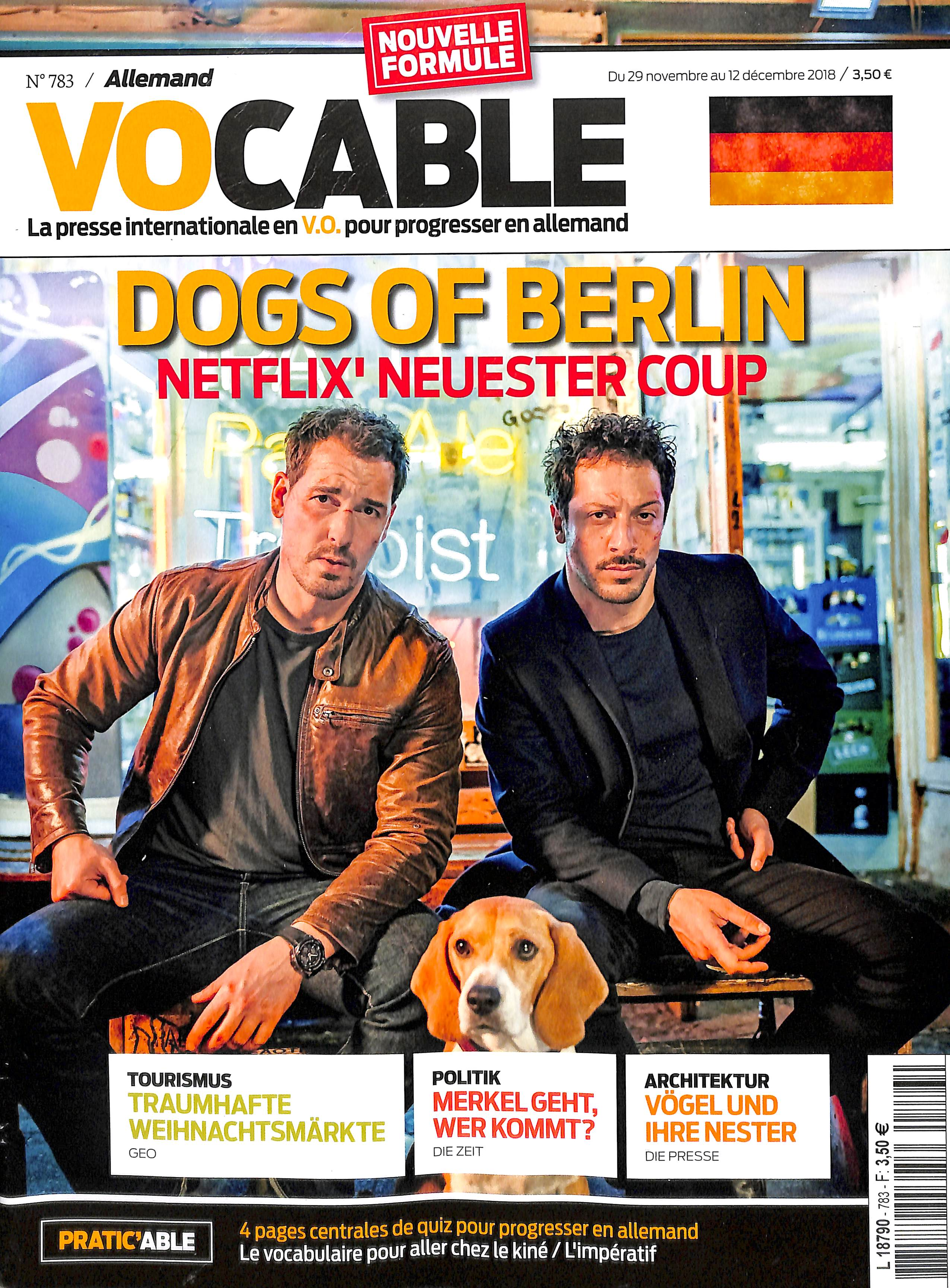 Vocable Allemand N° 784 December 2018