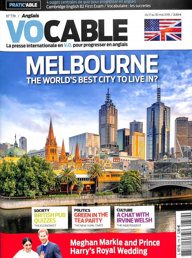 Vocable Anglais N° 781 June 2018