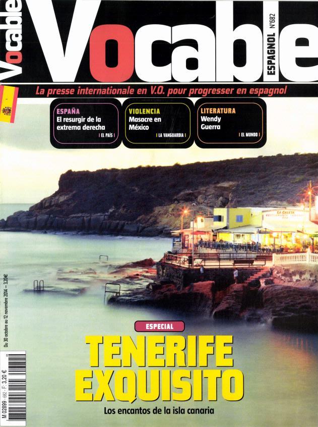 Vocable Espagnol N° 776 November 2018