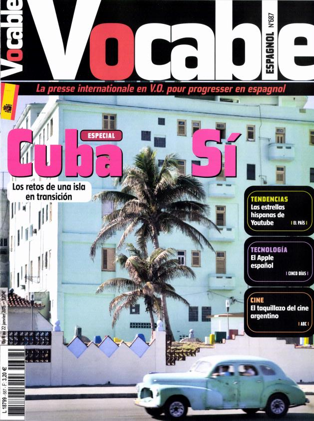 Vocable Espagnol N° 794 Septembre 2019