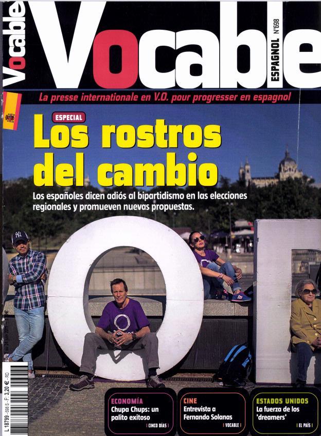 Vocable Espagnol N° 769 July 2018
