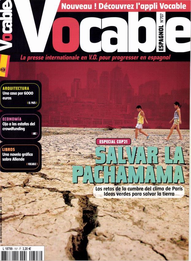 Vocable Espagnol N° 804 Février 2020