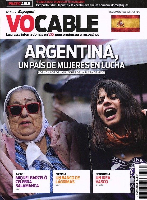 Vocable Espagnol N° 745 Juin 2017
