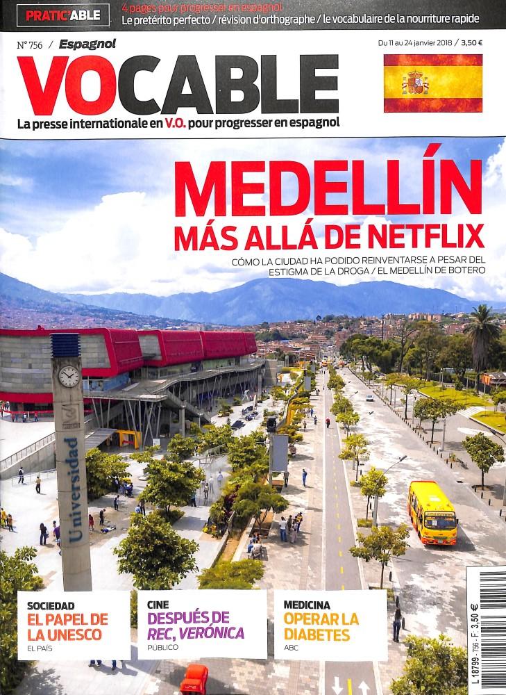 Vocable Espagnol N° 756 Janvier 2018