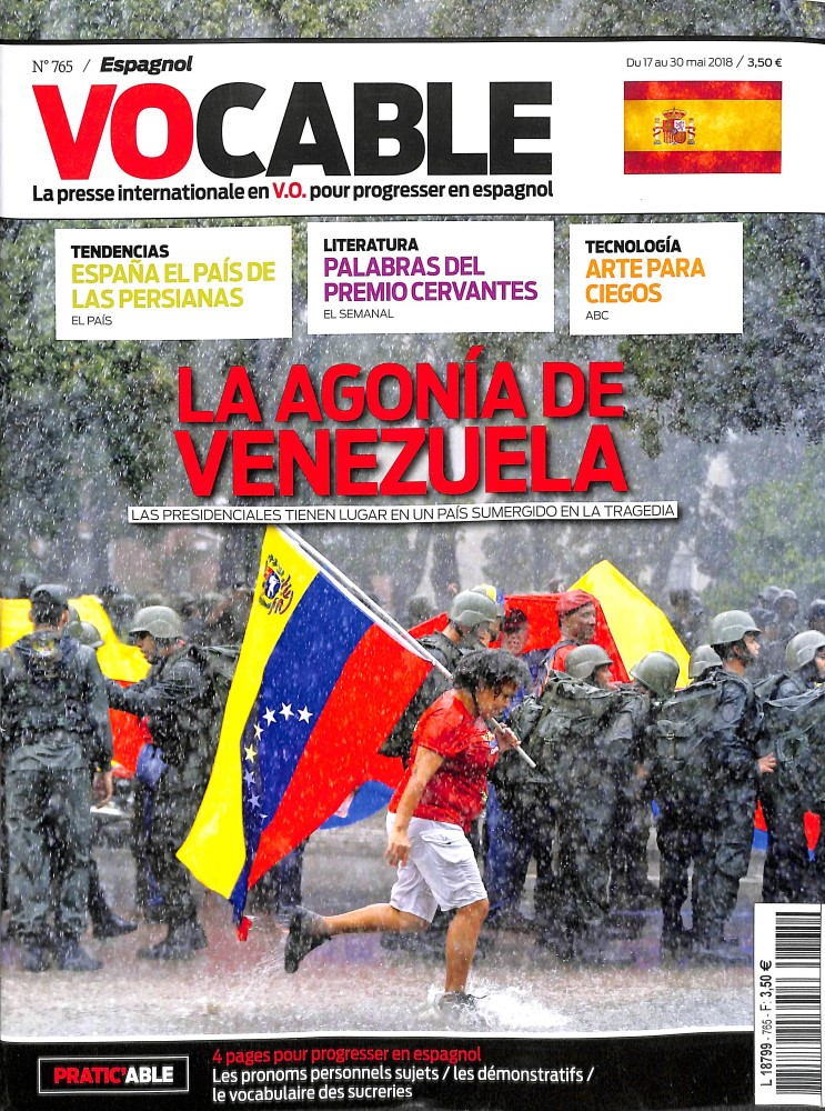 Vocable Espagnol N° 767 June 2018