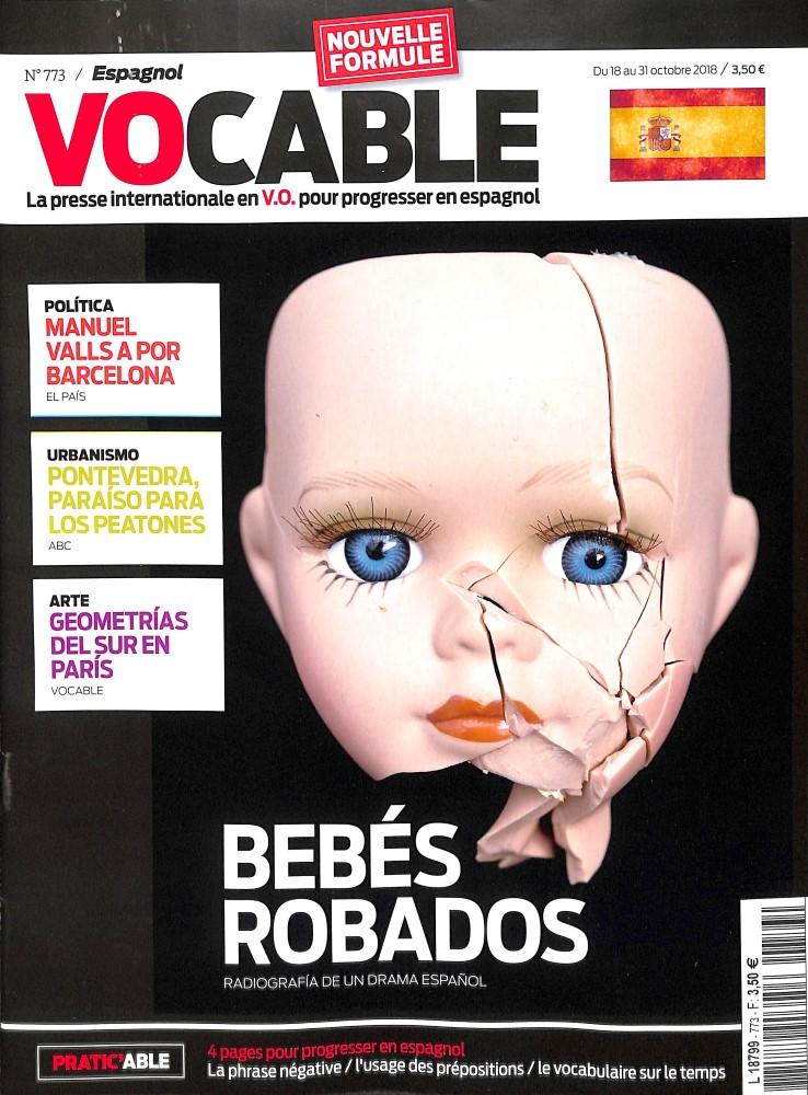 Vocable Espagnol N° 773 October 2018