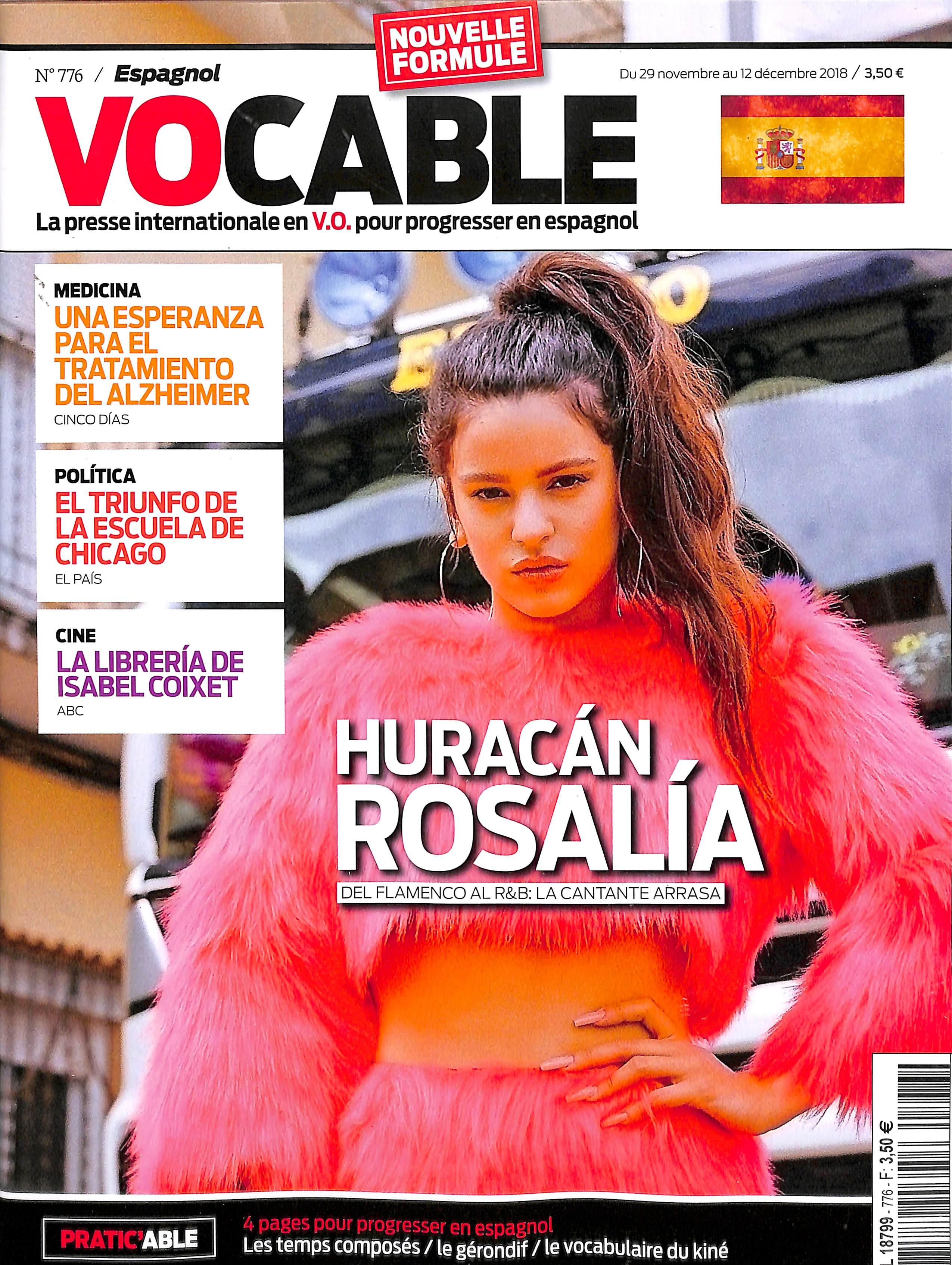 Vocable Espagnol N° 777 December 2018