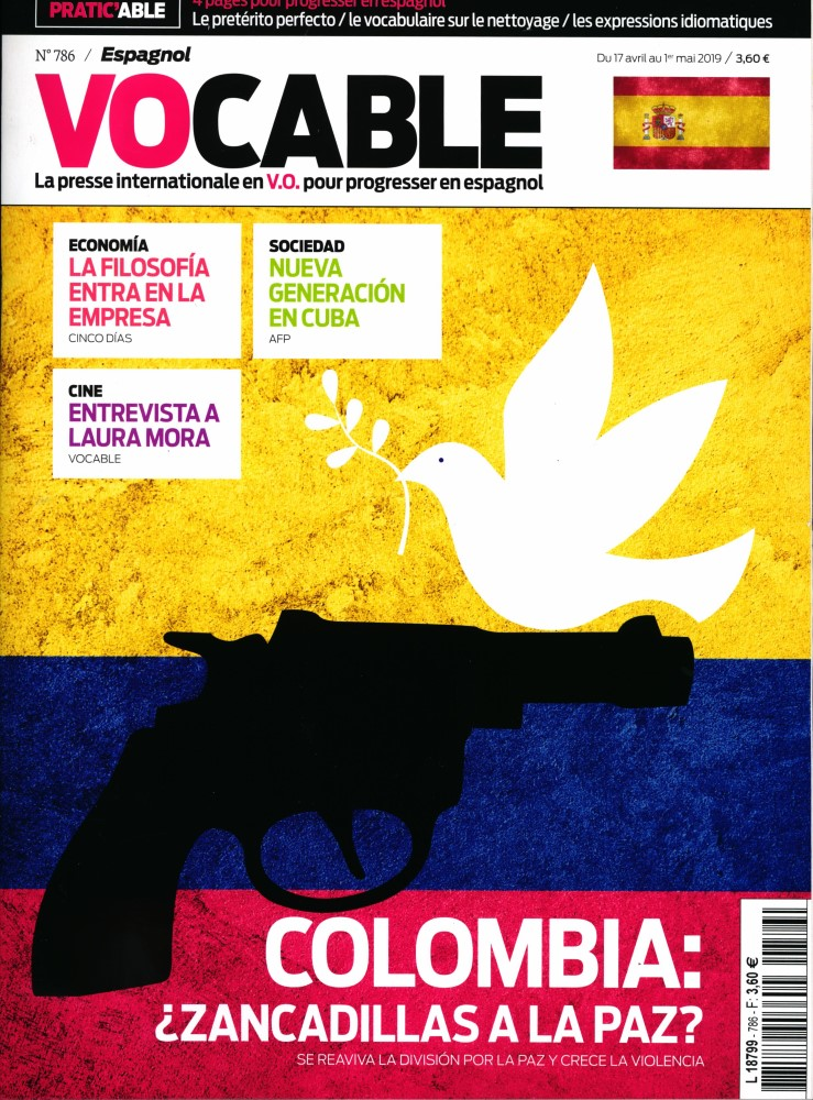 Vocable Espagnol N° 786 Avril 2019