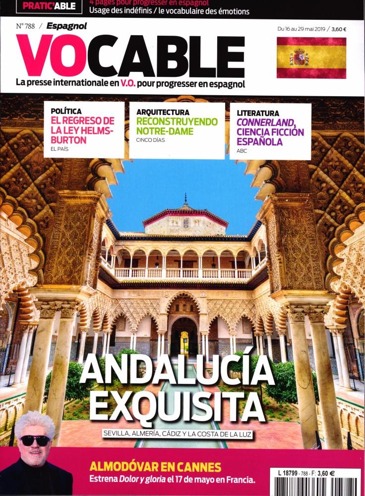 Vocable Espagnol N° 788 Mai 2019