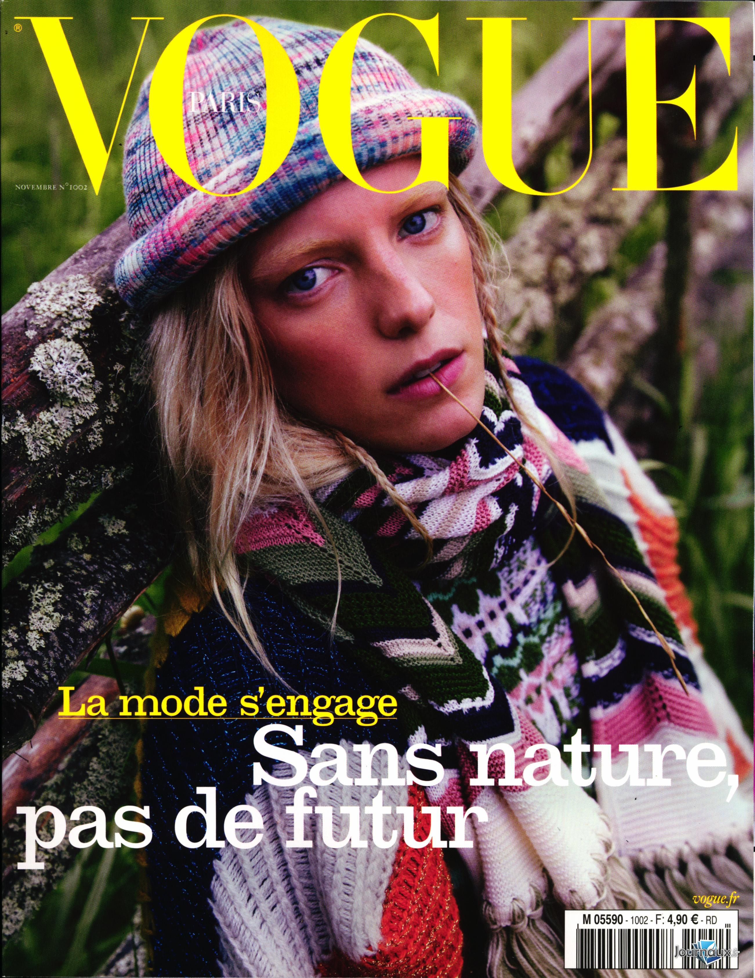 Vogue N° 1002 Octobre 2019