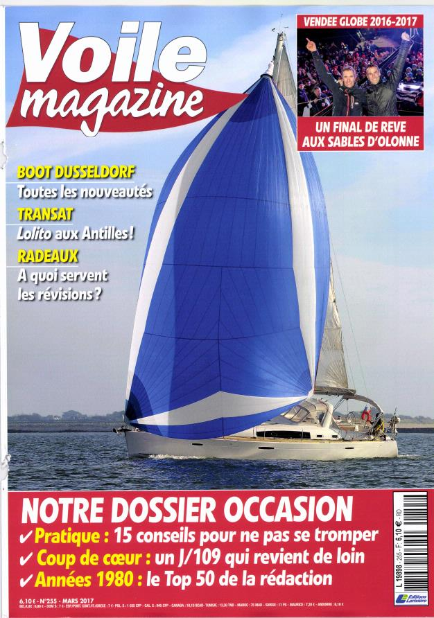 Voile magazine N° 255 Février 2017