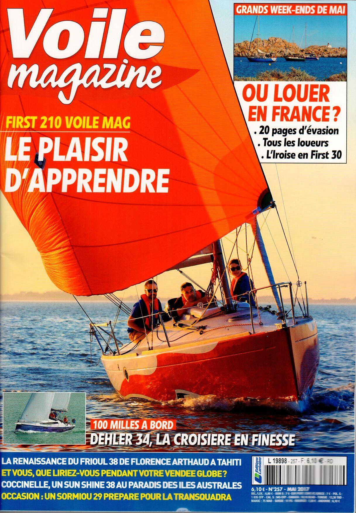 Voile magazine N° 280 Mars 2019