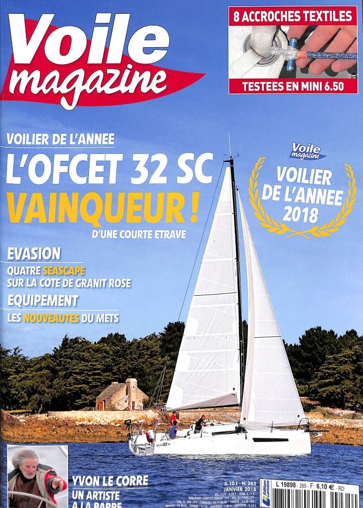 Voile magazine N° 266 Janvier 2018