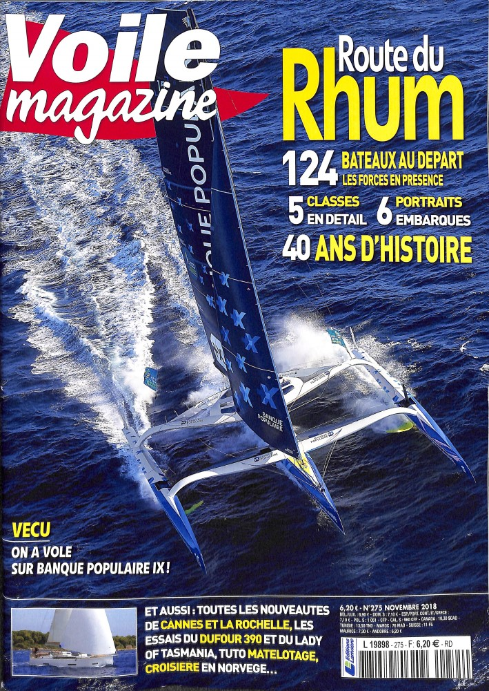 Voile magazine N° 275 October 2018