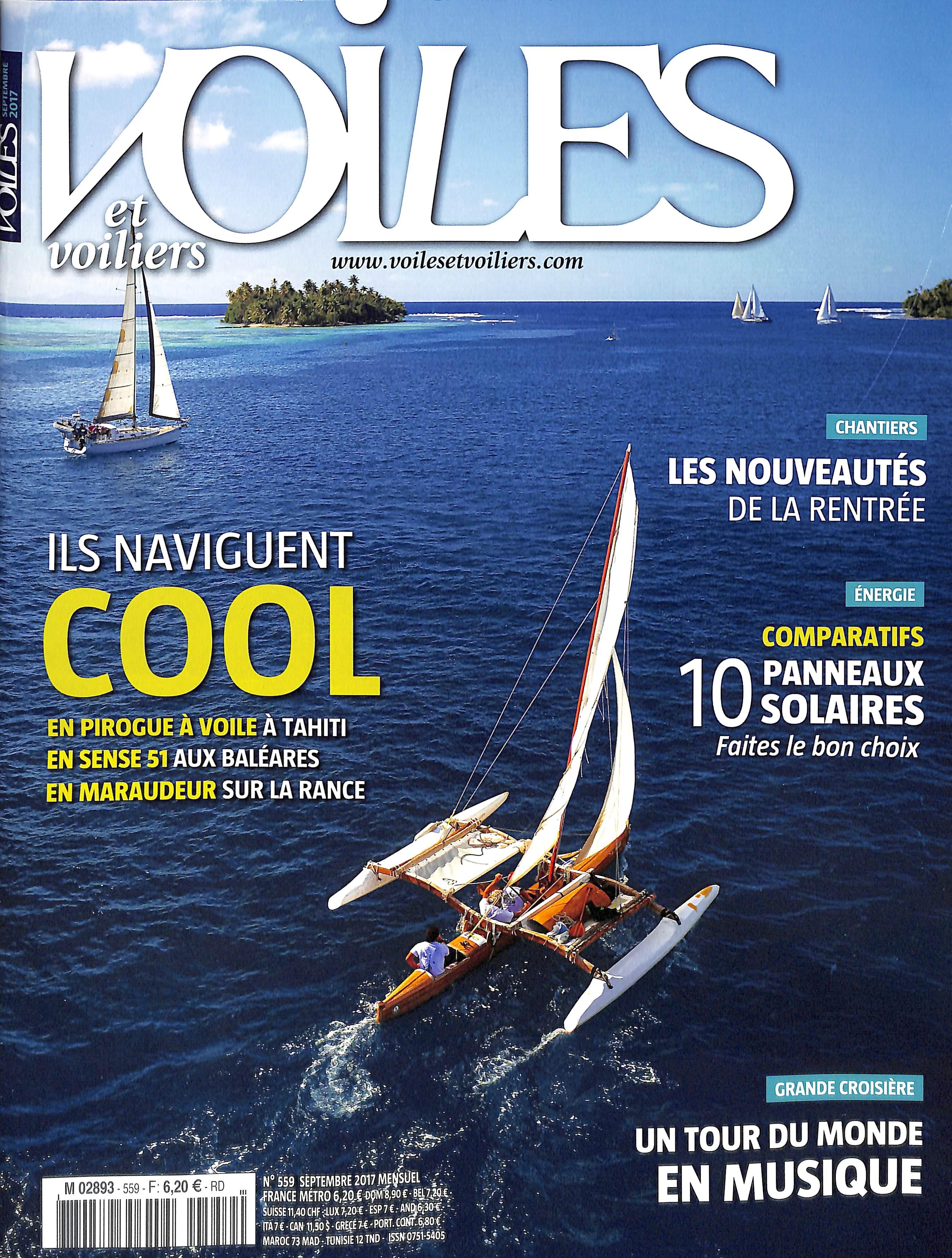 Voiles et voiliers N° 559 Août 2017