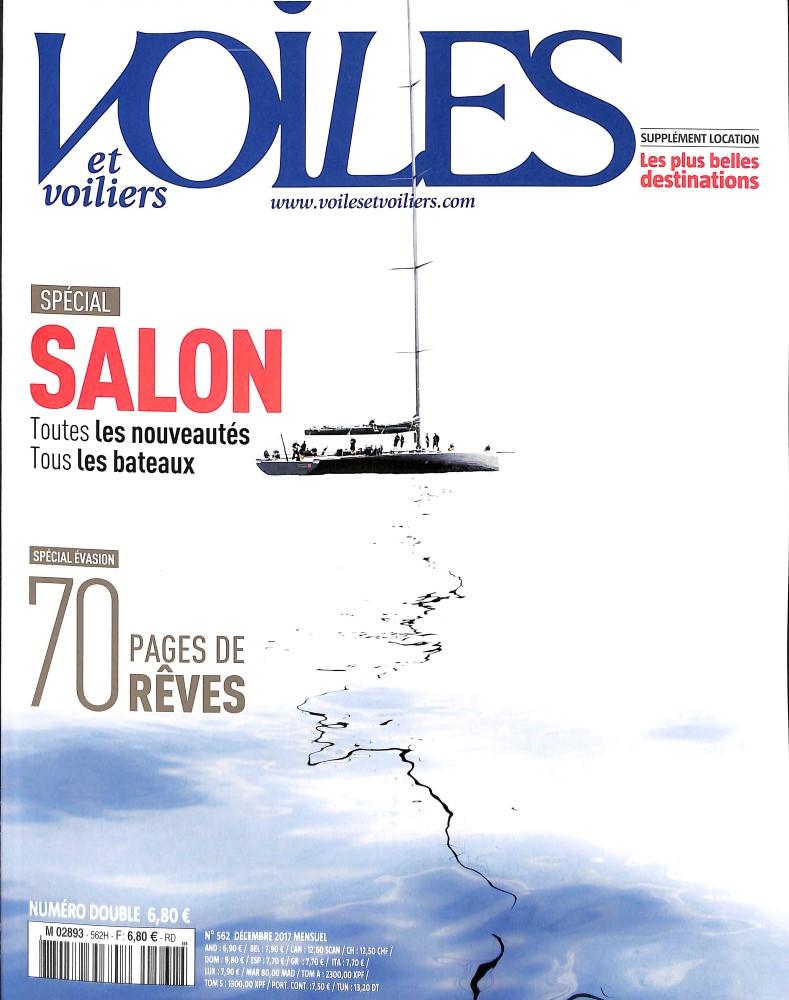Voiles et voiliers N° 587 Décembre 2019