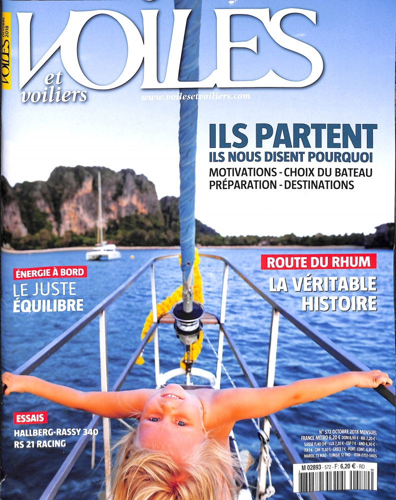 Voiles et voiliers N° 572 September 2018